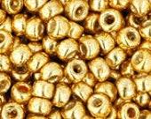 Toho 8/0 Japanesse Seed Beads TR-08-PF557 Color Permanent Finish Galvanized Starlight 10g/20g/30g