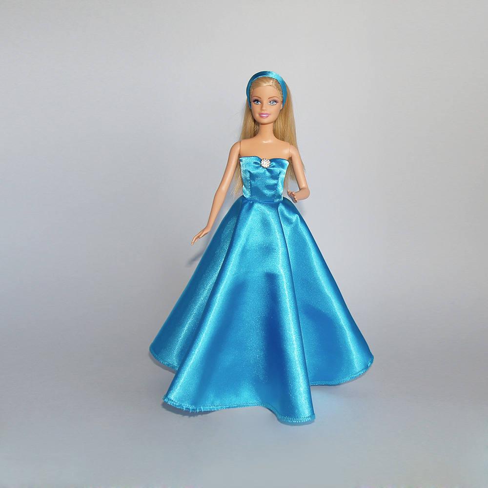 Barbie evening gown and headband - handmade [E10261624442993632M ...
