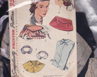 Vintage Simplicity Pattern 4195  One Size