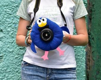 Kikoriki, Camera Lens Buddy, Camera Accessories, Lens Buddy, Crochet Lens Critter, Photographer Helper, Family Photography