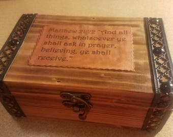 Homemade Prayer Box