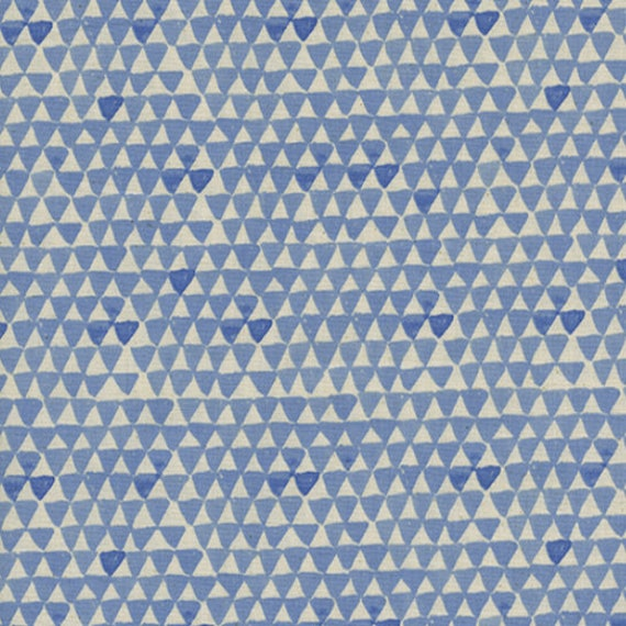 Boppy Cover - Sienna Mountain Sky in Blue - MADE-to-ORDER - Boppy Lounger blue triangle boppy, boho boppy, neutral bohemian boppy