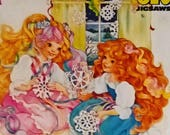 Lady Lovely Locks And The Pixietails Jigsaw 150 Pieces Jig saw Puzzle Circa 1985 1980s Collectable Collectible 100 Complete Rare