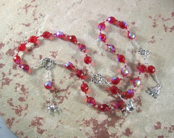 Loki Prayer Beads: Norse God of Chaos, Change, Transformation