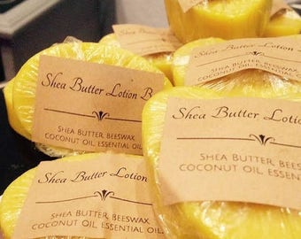 40% OFF SALE FREE Shipping- 12 -Shea Butter Lotion Bar-Heart Shape, 2.4 Oz, Vanilla Sandalwood Fragrance for Wedding Favors