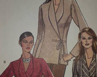 Vogue V7941 Misses Jacket pattern  Sizes 8-10-12-14  OOP Uncut