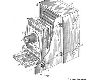 Blair Photographic Camera Patent #362599 dated May 10 1887.