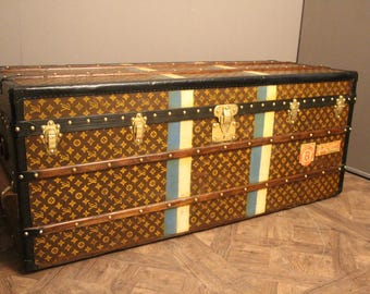 Extra Long Louis Vuitton Steamer Trunk