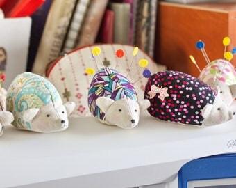 Cute Hedgehog Pincushion; soft toy; handmade toy / pincushion / needle keeper