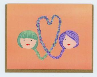 Braid Love - Girl/Girl