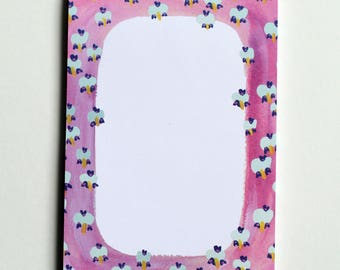 Cute Abstract Notepad