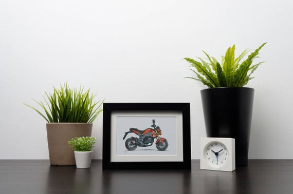 Honda MSX 125 SF Grom | Art Print | Instant Digital Download