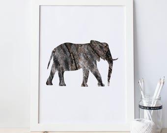 Elephant Wall Decor elephant wall decor   etsy