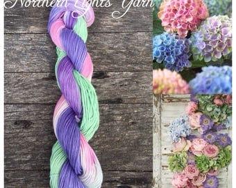 Secret Garden hand-dyed cotton yarn