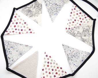 Garland pennants Liberty and linen available!