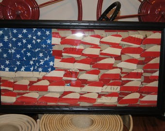 Fire Hose Flag Etsy