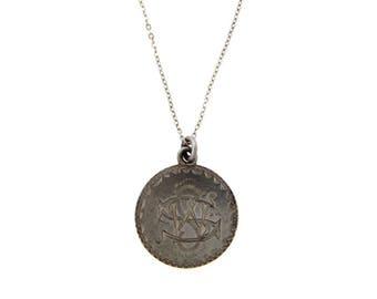 Antique Victorian Love Token Pendant Necklace