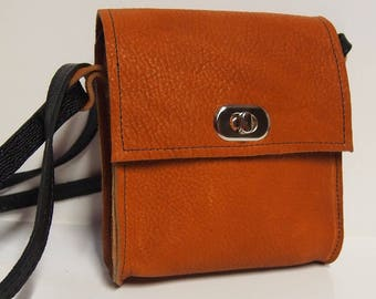 Brown leather wallet.