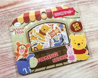 Winnie the Pooh Stickers - 50 Pieces