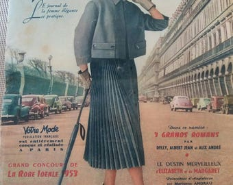 your old fashion 1953 with pattern