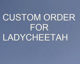 Custom Order for Ladycheetah. MH Doll outfits.