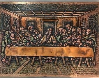 Wall Art - The Last Supper {Copper/Medium}
