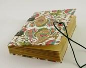 Carnet de notes fermeture élastique, 120 pages, carnet de grossesse ou carnet de voyage, reliure copte, journal intime, grimoire