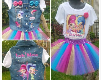 Shimmer & Shine Birthday Outfit, Team Umizoomi Birthday Outfit, Bubbles Birthday Outfit, Birthday Shirt, Bubbles Party, Shimmer Shine Shirt