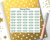 Sleep Mask Planner Stickers - Inspired by Breakfast at Tiffany's