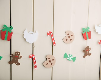 Christmas garlands, party decor, mantel decor