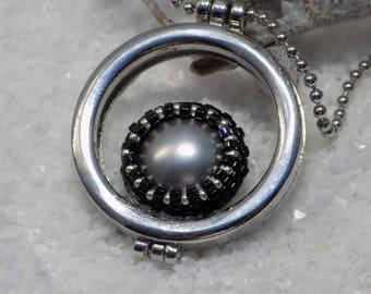 """eye of Ra"" pendant silver"