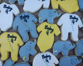 Neutral Baby Shower Cookies_Showers Favors