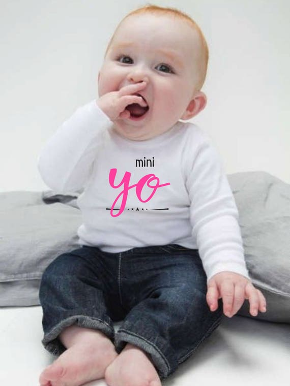 Boy/girl/baby t-shirt MINI YO