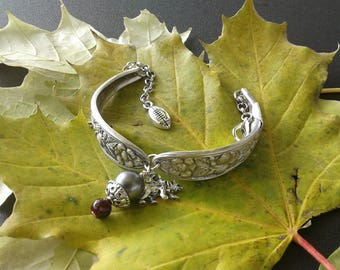 Bracelet Met Rose MEO1 w/ Bear