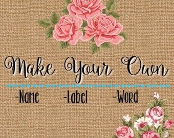 Make Your Own Decal Etsy - Make your own decal
