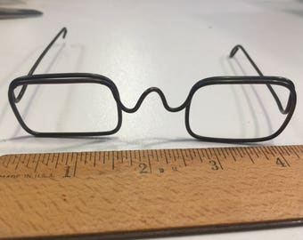 Wire Rimmed Doll Glasses Spectacles