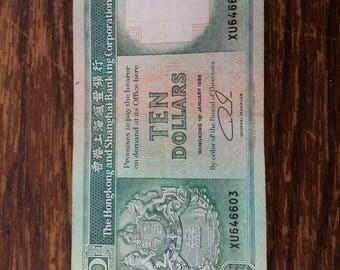 Hongkong Shangai bank note