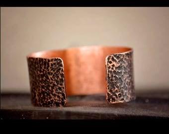 Copper Wedding Gift, Copper Anniversary Bracelet, Copper Cuff, 7 year Anniversary, 7 year anniversary gift, Copper Gifts, Copper gift