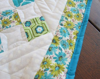 Quilted Table Runner, Artisan Quilted Runner