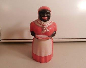 vintage f & f co black americana aunt jemima syrup pitcher