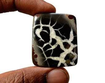 Septarian Large 71 Cts Natural  Top Quality Gemstone Cabochon Rectangle Shape 35x30x5 MM R14213