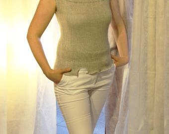 Linen top / Women clothing TO3