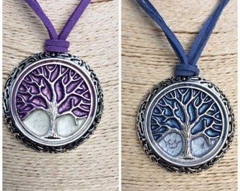 Tree life necklace, Christmas gift, personalized gift, protection necklace, amulet, magic tree necklace, Hanmade, unique jewelry,