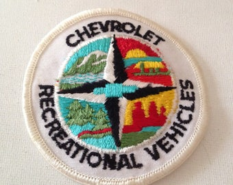 Chevrolet Recreational Vehicles Patch Rare