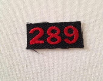 Ford 289 Patch Rare