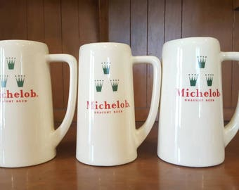 Michelob Draught Beer Mugs