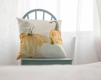 Pumpkin Decor -  Fall Pillow, Farmhouse Pillow, Pumpkin Pillow, Pumpkin everything, Fall Decor, Thanksgiving Decoration, Fall Pillow cover