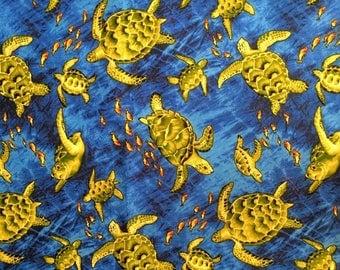 Hawaiian Fish Fabric Etsy