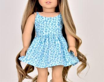 "18 inch doll dress ""Spaghetti Straps"" Doll clothes"