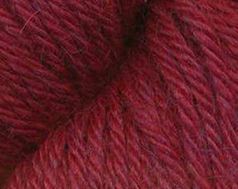 Juniper Moon HERRIOT 4-Ply DK Baby Alpaca Yarn +Free Patterns 17.99+.99ea Shipping - Blood Red #1013 - 219yds 100g. MSRP 19.99